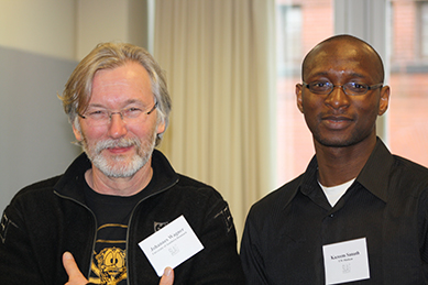 picture of Kazeem Sanuth and Johannes Wagner